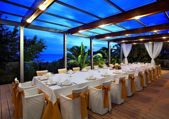Queen of Montenegro: Taverna terrace