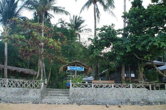 Coral Bay Resort: Widok od strony plaży