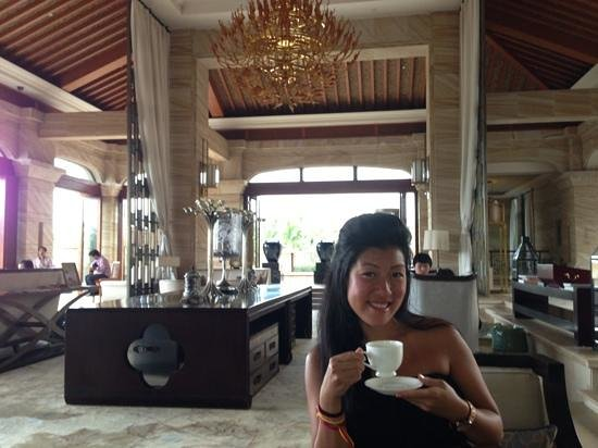 Conrad Sanya Haitang Bay: afternoon tea!