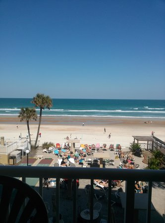 Maverick - Ormond Beach: the view from our balcony