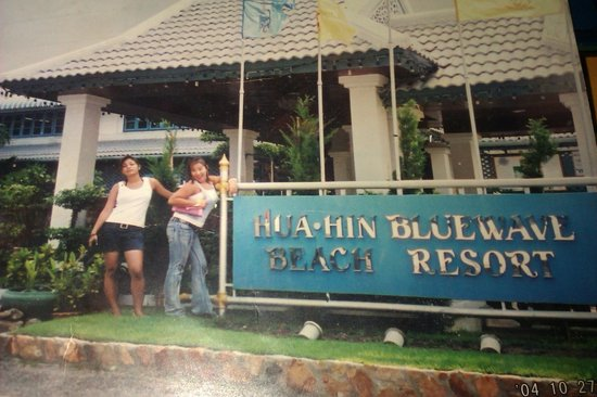 หัวหิน บลูเวฟ บีช รีสอร์ท: Happy time with frind at..Hau Hin Blue Wave Beach Resort !