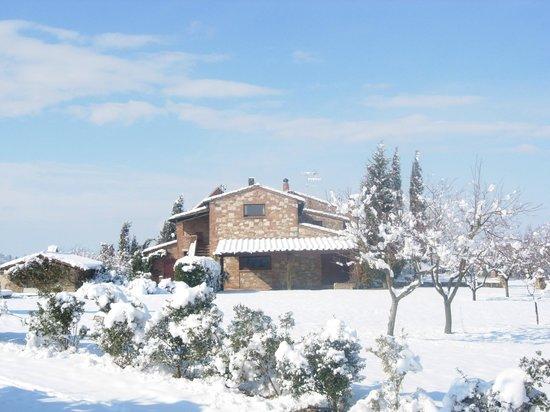 Relais Ortaglia: Il casale sotto la neve