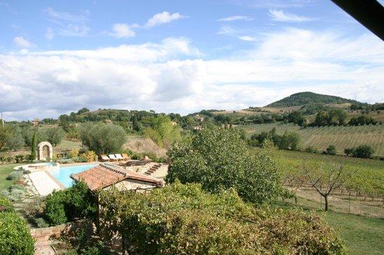 Relais Ortaglia: Vista dalla suite San Donato
