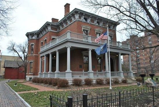 Benjamin Harrison Presidential Site : Benjamin Harrison Home
