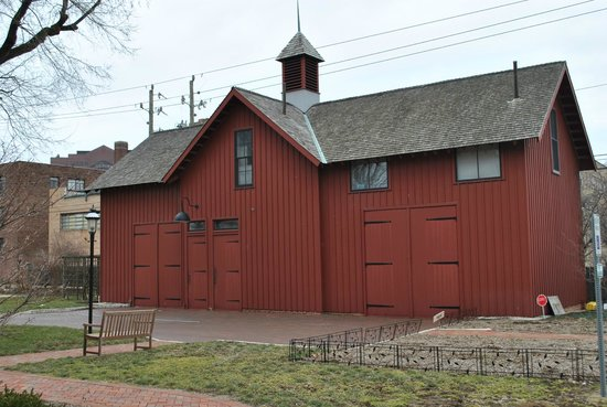 Benjamin Harrison Presidential Site : Harrison Carriage House