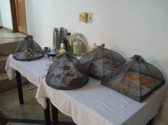 Posada La Cigala: Café da manhã