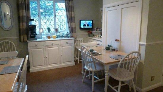 Park Farm Bed & Breakfast: Dining Room
