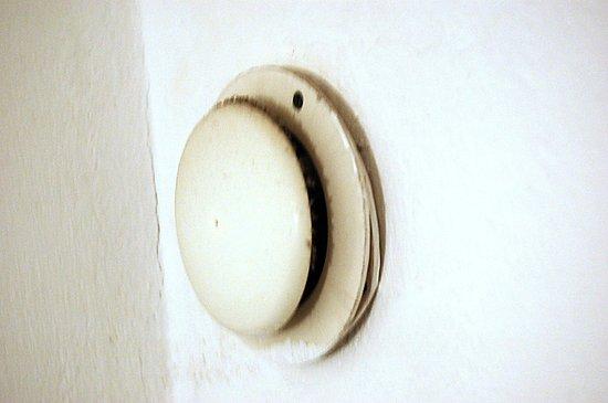 Hotel Albatros: Filthy bathroom ventilator