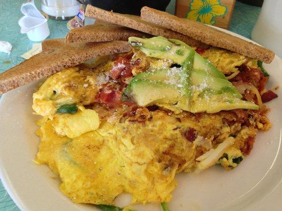 The BeachSide Cafe: Avocado Skillet