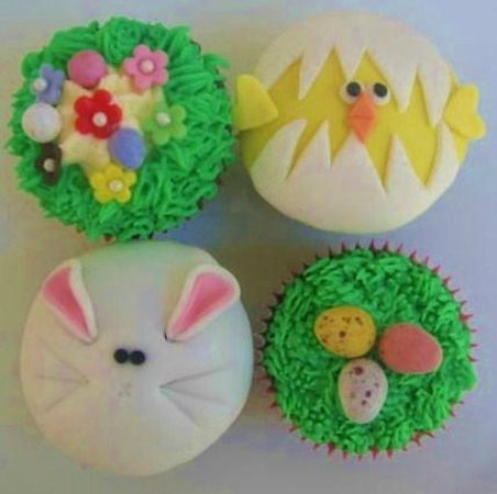 Krave Delicatessen: Choice of Easter cupcakes at Krave Deli
