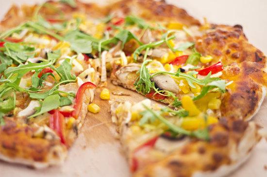 Chilli Cocktail Bar & Restaurant: Tasty chilli's pizza...
