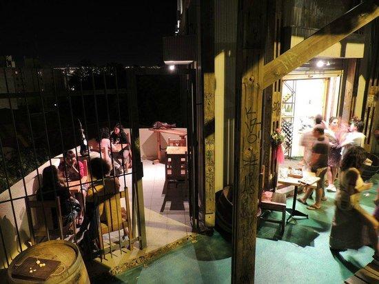 Antonia Wines Boutique: Terraza con bella vista