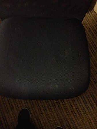 Extended Stay America - San Jose - Milpitas: sit on this? what's on it?