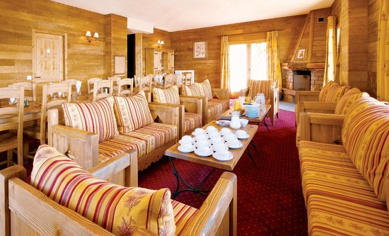 Chalet Panda : typical d'lours interior