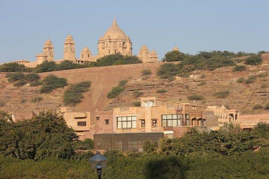 Royal Rai's Guest House : View of the Umaid Bhavan Palace