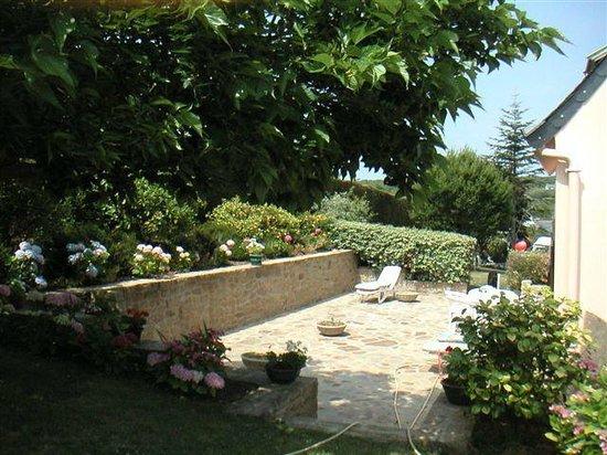 Villa Trouz Ar Mor : terrasse solarium