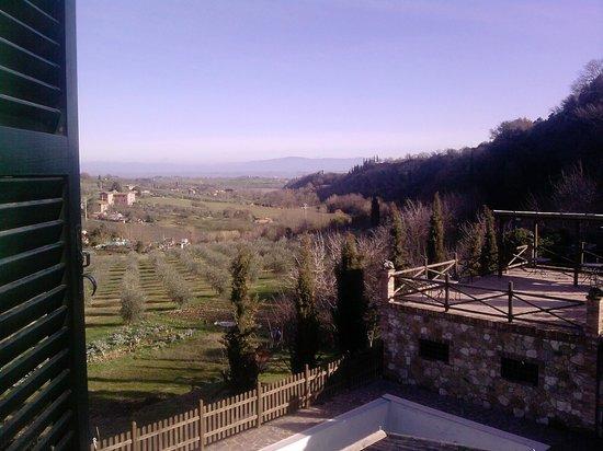 Agriturismo La Pietriccia: La vista dalla nostra finestra