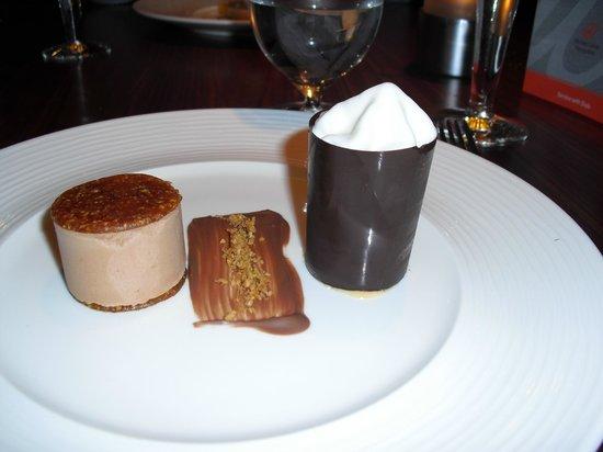 ABode Manchester: dark chocolate ganache