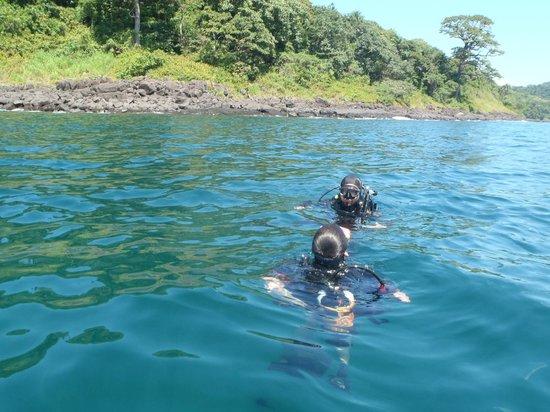 Dublin Island, Sierra Leone: Free Diving and Scuba diving at Banana Island Sierra Leone