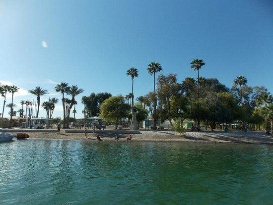 Lake Havasu State Park View From The Water