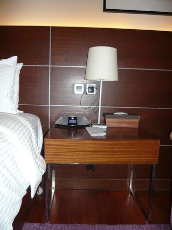 iPhone dock in room
