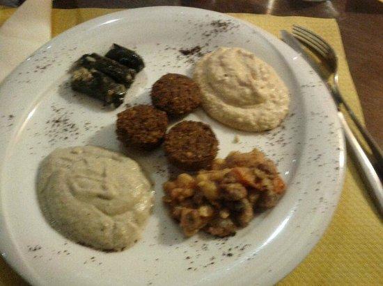 Fairouz: Gli antipasti