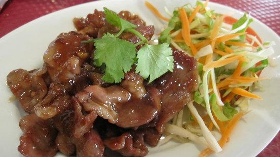 Ban Thai: Porc à l'ail