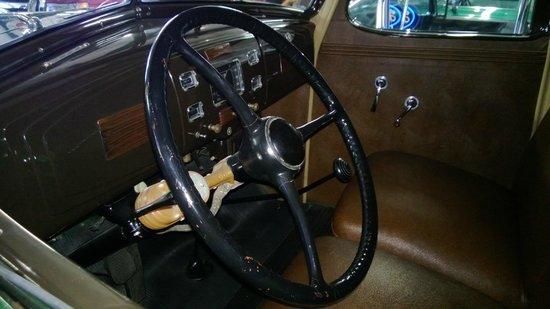 Hemmings Motor News Filling Station: Giant old time wheel