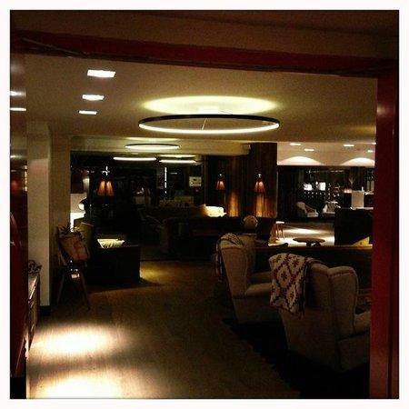 La Cordée des Alpes : Hotel Lobby