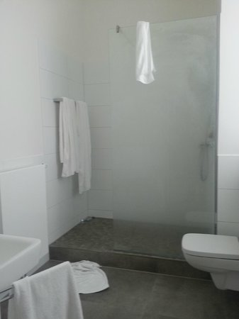 The Red: bathroom (great shower with a rain head)
