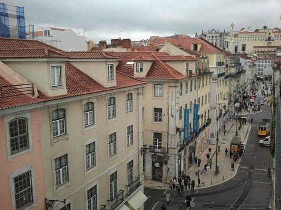 Hotel Lisboa Tejo: Ausblick bei Tag