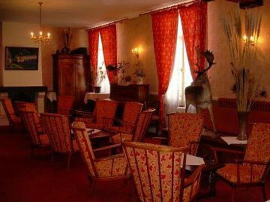 Hostel du Roy: Salon (à l'étage)