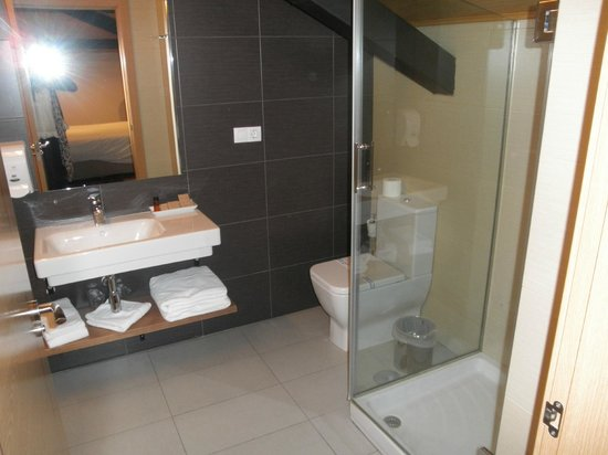 Hotel Mesón de Erosa: Baño
