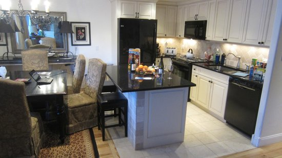 Vantage Point: Kitchen/dining room