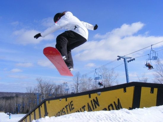 Bruce, WI: Try our 4 progressive terrain parks!