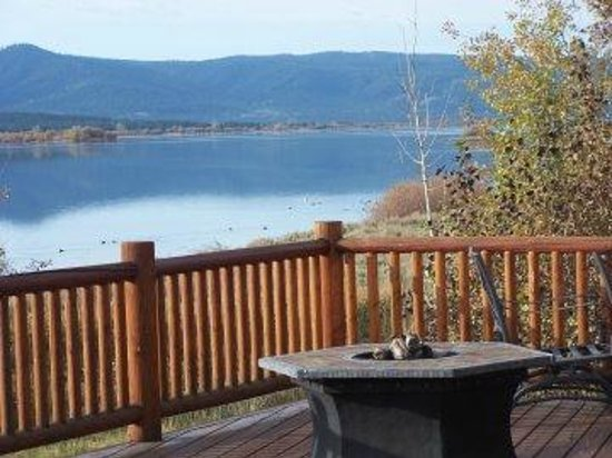 Island Park, ID: Waterfront South Shores Lake House