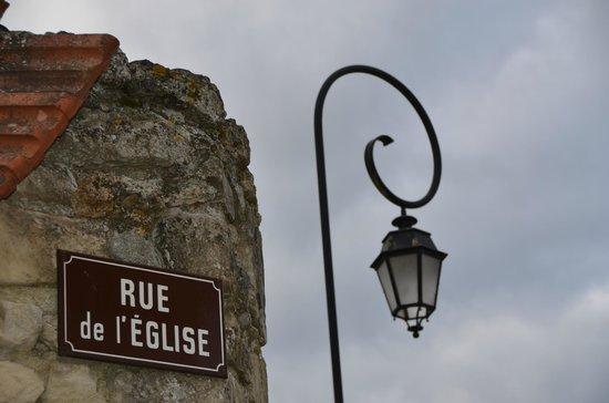 Champagne Route (Route Touristique du Champagne) : Rue de Eglise - where Gobance Champagne is located