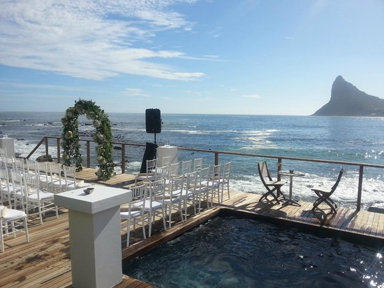 Tintswalo Atlantic: Wedding set-up
