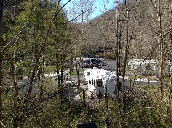 Twin Creek RV Resort: View from trolley stop