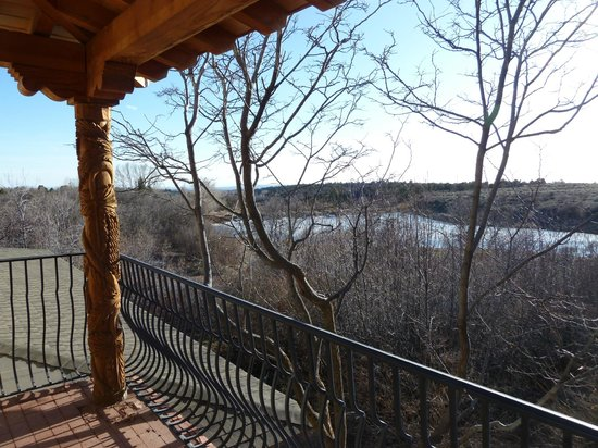 Blue Lake Ranch: View from balcony of La Plata Vista Room