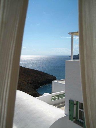 Tholaria Boutique Hotel Astypalaia: Θέα από τον εξωτερικό χώρο του πρωινού