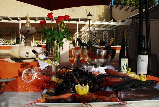 Restaurante Manantial de la Caleta: Fotos Manantial