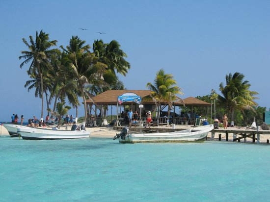 Belize Cruise Excursions Goff S Caye Beach And Snorkeling Tour Paradise