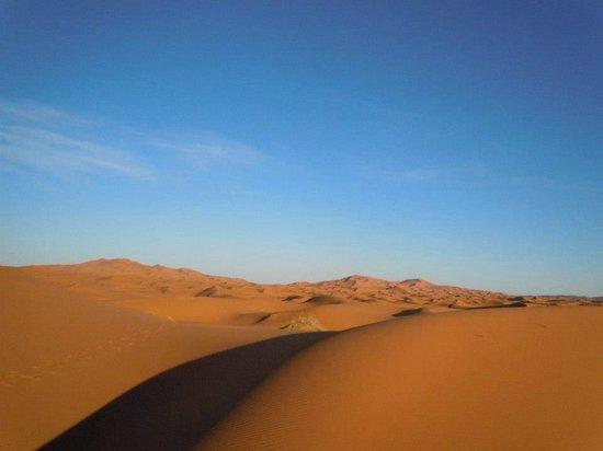 Auberge Camping Sahara: The Desert