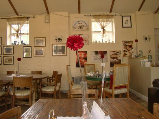 Thornham Coach House: The charming restaurant