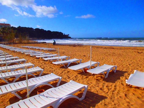 Annabella Diamond Hotel: Strand