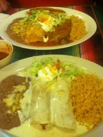 El Tequila Mexican Restaurant: burrito and combo dinners