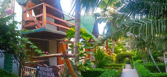 Balandra Hotel: Una muestra de nuestros pasillos