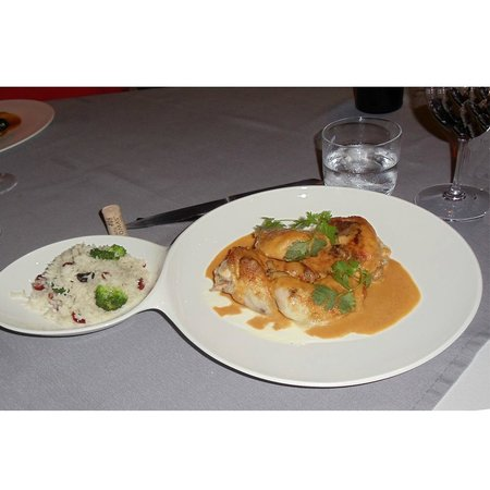 SeaSeñor: The curry chicken with basmatic rice