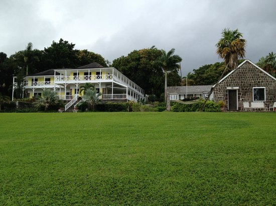 Ottley's Plantation Inn: Main plantation home and historic cottage